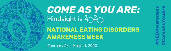 NEDA Awareness Week 2020 Banner