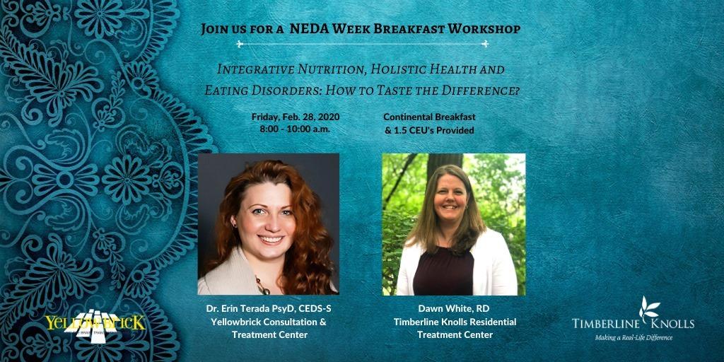 TK and Yellowbrick NEDA Week Banner