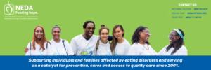 NEDA Banner - Green Background
