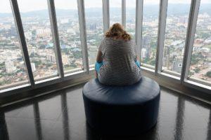 Overweight Woman Sitting Near Window - 3363609_1920