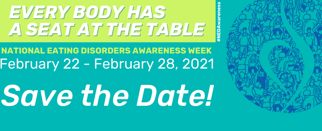 NEDA Awareness Week Banner 2021