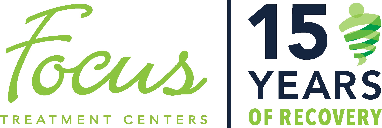 Focus 15 Year Anniversary Logo