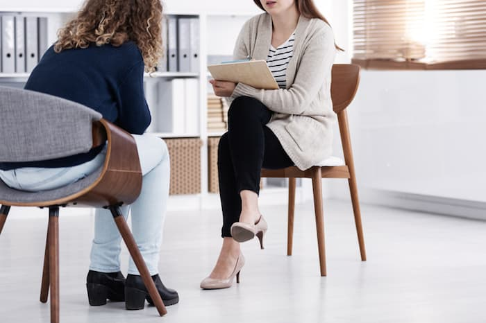 getting help from a counselor